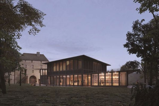 Chateau de Caen projet immobilier